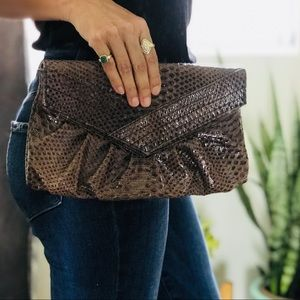 Handbags - Brown Styling Clutch